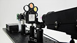 Side Photo of the DLM-1x Confocal Microscope